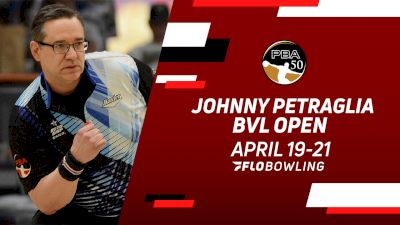 Full Replay: Lanes 33-34 - PBA50 Johnny Petraglia BVL Open - Match Play Round 2