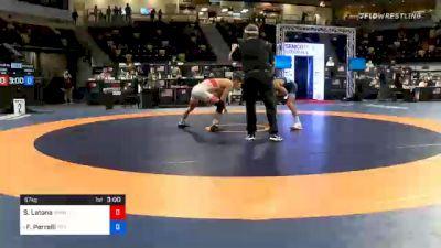57 kg 5th Place - Sam Latona, TMWC / SERTC vs Frank Perrelli, Titan Mercury Wrestling Club (TMWC) / LVWC