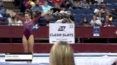 Emma LaPinta - Floor, University of Oklahoma - 2021 Metroplex Challenge