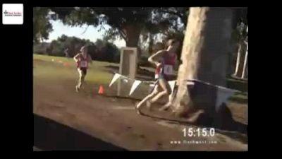 Girls Finish trading leads between Molly Seidel & Erin Finn Foot Locker CC Championships 2011