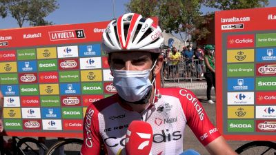 Guillaume Martin: 'I Will Enjoy, If I Have Good Legs' Stage 14 - Vuelta A España