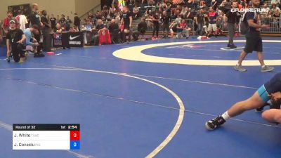 79 kg Round Of 32 - Jaison White, FLWC/NYRTC vs Jacob Covaciu, Indiana