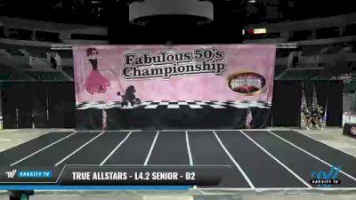 True Allstars - L4.2 Senior - D2 [2021 Trinity] 2021 ACP Disco Open Championship: Trenton