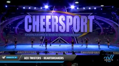ACX Twisters - Heartbreakers [2021 L1 Mini - Small Day 1] 2021 CHEERSPORT National Cheerleading Championship