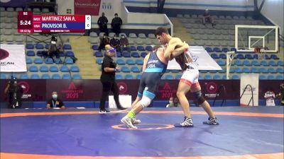 82 kg Rr Rnd 2 - Alexis Armando Martinez Sanchez, Mexico vs Benjamin Errol Provisor, United States
