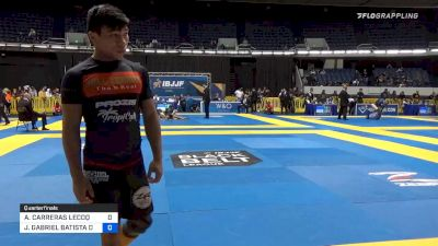 ALEJANDRO CARRERAS LECOQ vs JOÃO GABRIEL DE SOUSA 2019 World IBJJF Jiu-Jitsu No-Gi Championship