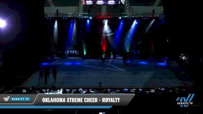 Oklahoma Xtreme Cheer - Royalty [2021 L4 Senior - Small Day 1] 2021 The U.S. Finals: Pensacola