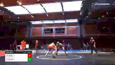 126 lbs Final - Kal Miller, MO vs Jerrdon Fisher, KS
