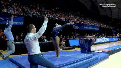 Savannah Schoenherr - Vault, Florida - 2019 NCAA Gymnastics Regional Championships - Oregon State