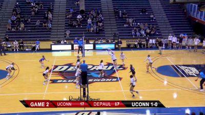 Replay: UConn vs DePaul   Oct 2 @ 6 PM