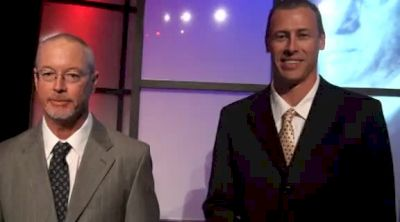 FSU Coaches Ken Harden and Dennis Nobles after Bowerman Awards 2011