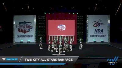 - Twin City All Stars Rampage [2019 Senior - Small 3 Day 1] 2019 NCA North Texas Classic
