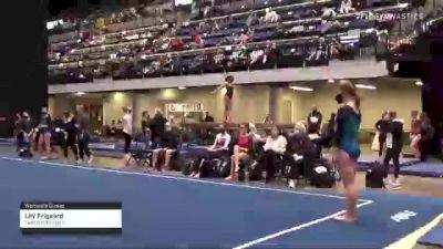 Lily Frigaard - Women's Group, Twin City Twisters - 2021 Women's Xcel Region 4 Championships