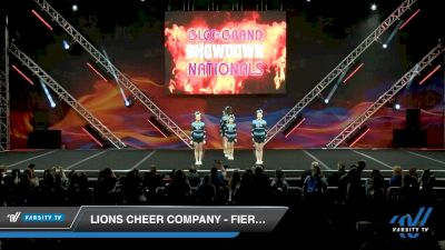 Lions Cheer Company - Fierce Cats [2020 L2 Junior - D2 - Small - A Day 1] 2020 GLCC: The Showdown Grand Nationals
