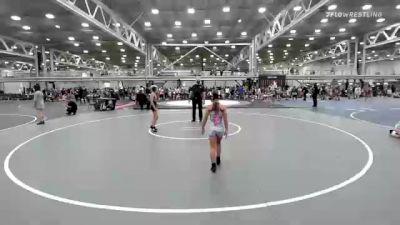 67 lbs 5th Place - Keira Cunningham, Misfits Sweet Lightning vs Lindley Crow, Michigan Rev Girls