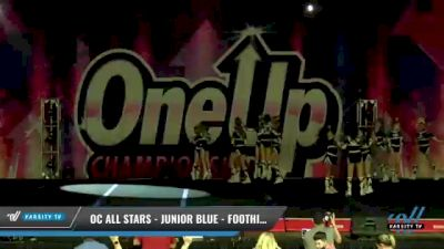 OC All Stars - Junior Blue - Foothill Ranch [2021 L3 Junior - Small Day 2] 2021 One Up National Championship