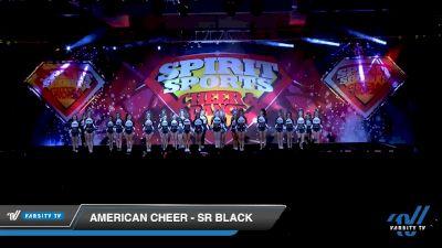 American Cheer - SR BLACK [2020 L3 Senior Coed Medium - A Day 1] 2020 Spirit Sports: Duel In The Desert