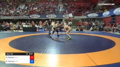 79 lbs 3rd Place - Nick Becker, Badger Regional Training Center vs Benjamin Harvey, West Point Wrestling Club