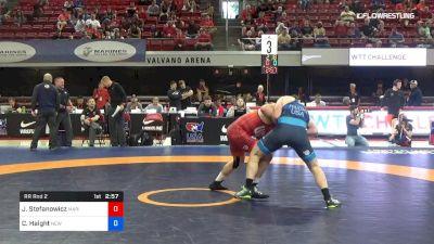 82 lbs Rr Rnd 2 - John Stefanowicz, Marines vs Cheney Haight, New York Athletic Club