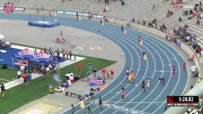 Girls' 4x400m Relay, Final - Age 15-16