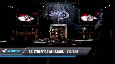 CG Athletics All Stars - Viciou5 [2021 L5 Senior Coed Day 1] 2021 The U.S. Finals: Kansas City