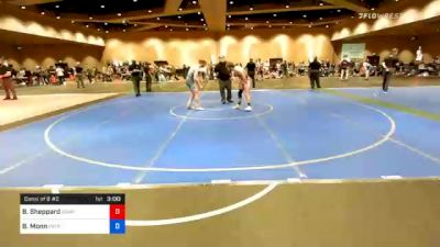 57 kg Consolation - Blake Sheppard, Compound Wrestling - Great Lakes vs Benjamin Monn, Patriot Elite Wrestling Club