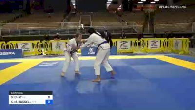 GEETA BHAT vs KRISTI M. RUSSELL 2020 World Master IBJJF Jiu-Jitsu Championship
