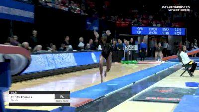 Trinity Thomas - Vault, Florida - 2019 NCAA Gymnastics Regional Championships - Oregon State