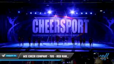 ACE Cheer Company - TUS - Red Rampage [2021 L3 Junior - Medium - A Day 1] 2021 CHEERSPORT National Cheerleading Championship