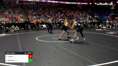 174 lbs Semifinal - Taylor Lujan, Northern Iowa vs Kimball Bastian, Utah Valley