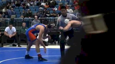 157 lbs finals Justin Lister Binghamton vs. George Ivanov Boise State
