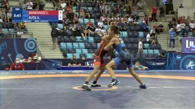 48 kg 1/8 Final - Luka Javakhadze, Georgia vs Arsenii Kutil, Ukraine