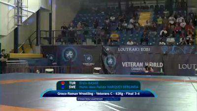 Replay: Mat A - 2021 Veterans World Championships | Oct 23 @ 6 PM