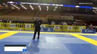 BRUCE NICHOLAS CATHIE vs JON S. KIM 2020 World Master IBJJF Jiu-Jitsu Championship