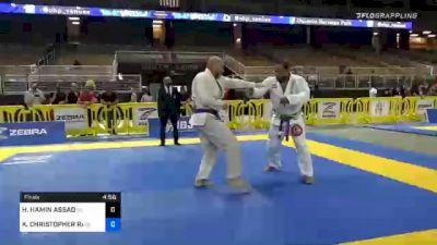 HASSAN HAMIN ASSAD vs KEVIN CHRISTOPHER RARIDEN 2020 World Master IBJJF Jiu-Jitsu Championship