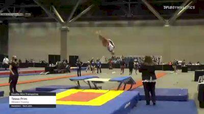 Tessa Prim - Double Mini Trampoline, Midwest Training - 2021 USA Gymnastics Championships