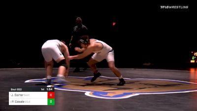 220 lbs Final - Justin Darter, Bakersfield vs Pj Casale, Delbarton School (NJ)