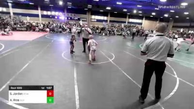 64 lbs Semifinal - Samantha Jordan, Nevada Elite WC vs Azyah Rice, Inland Elite