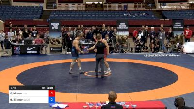 97 kg Final - Kollin Moore, Titan Mercury Wrestling Club / Ohio RTC vs Hayden Zillmer, Gopher Wrestling Club - RTC