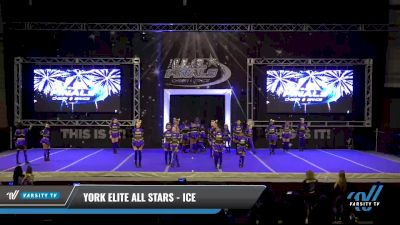 York Elite All Stars - Ice [2021 L3 Junior - D2 - B Day 2] 2021 The U.S. Finals: Ocean City