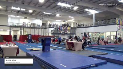 Arielle Ward - Vault, Metroplex Gymnastics - 2021 Region 3 Women's Championships