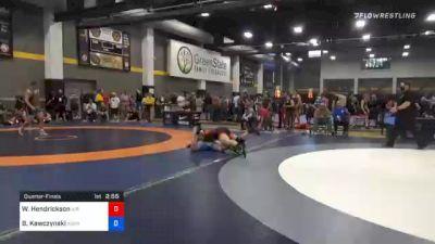 125 kg Quarterfinal - Wyatt Hendrickson, Air Force Regional Training Center vs Ben Kawczynski, Askren Wrestling Academy Lake Country