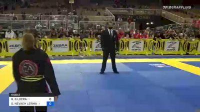 ROSELLINE G LOERA vs SAMARA NEVAEH LERMA 2021 Pan Kids Jiu-Jitsu IBJJF Championship