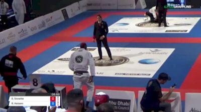 Sebastian Szyszka vs Rida Haisam 2018 Abu Dhabi World Professional Jiu-Jitsu Championship