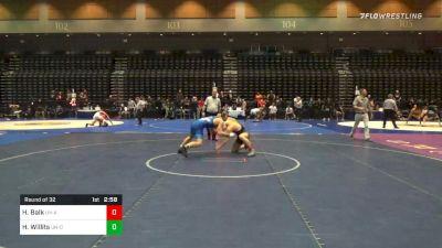 157 lbs Prelims - Hunter Balk, UN-Arizona State vs Hunter Willits, UN-Oregon State
