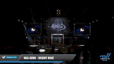 HCA Gems - Desert Rose [2021 L2 Senior Day 2] 2021 The U.S. Finals: Louisville