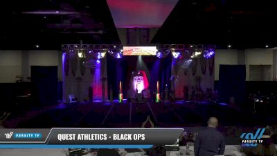 Quest Athletics - Black Ops [2021 L5 Senior Coed - D2 - Small Day 2] 2021 Queen of the Nile: Richmond