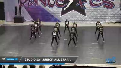 Studio 22 - Junior All Stars Hip Hop [2021 Junior - Hip Hop - Small Day 2] 2021 Badger Championship & DanceFest Milwaukee