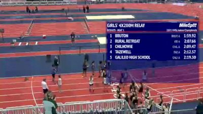 High School Girls' 4x200m Relay, Finals 2