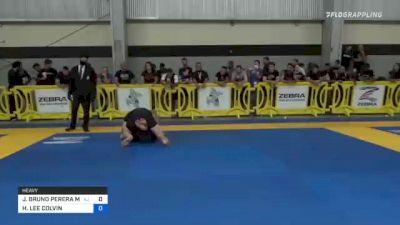 JOSE BRUNO PEREIRA MATIAS vs HUNTER LEE COLVIN 2021 Pan IBJJF Jiu-Jitsu No-Gi Championship